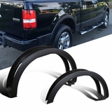 2004-08 Ford F150 Factory Styleside 4PC Smooth Paintable Fender Flares Wheel Cover