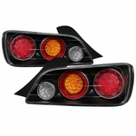 2004-09 Honda S2000 AP2 Full LED Tail Lights - Black