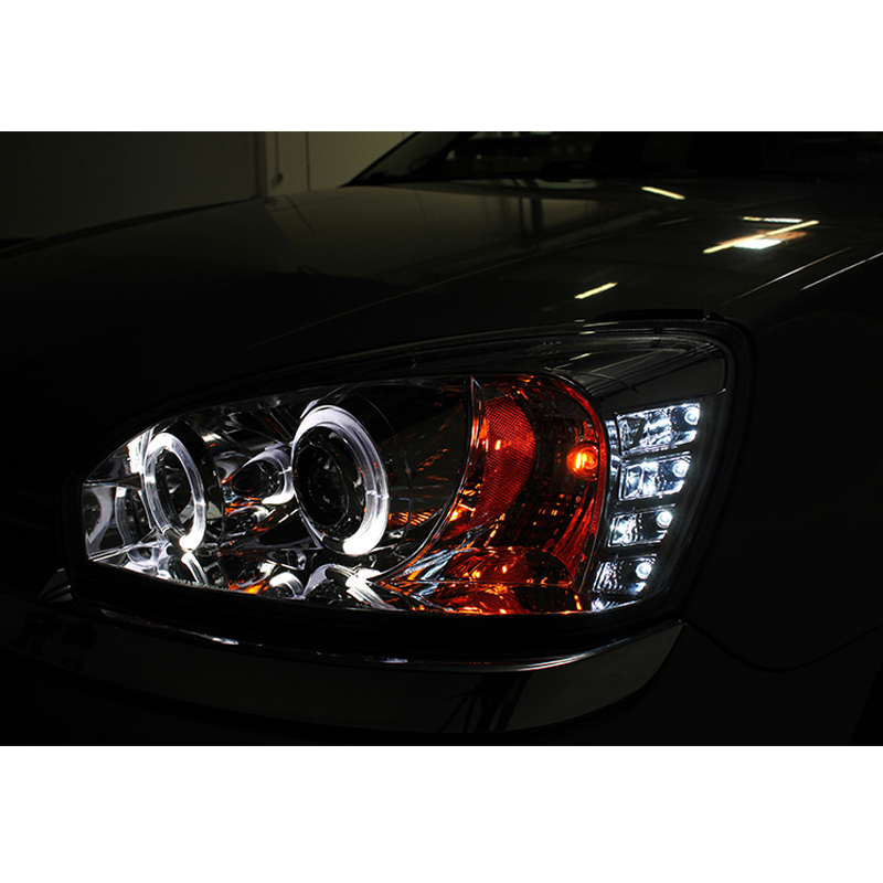 2004 2007 chevy malibu angel eye halo led projector headlights black 107 2007 chevy malibu angel eye halo & led projector headlights black Nissan Altima Wire Harness at nearapp.co