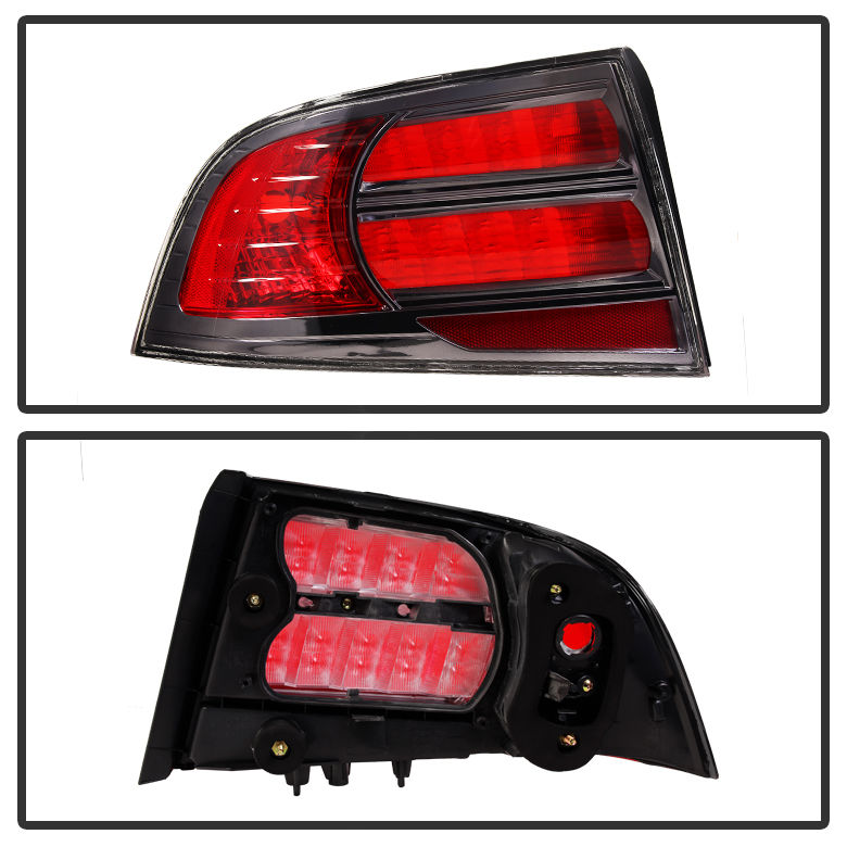 2004 2008 acura tl replacement tail lights left right - 2004 acura tl led interior lights ...