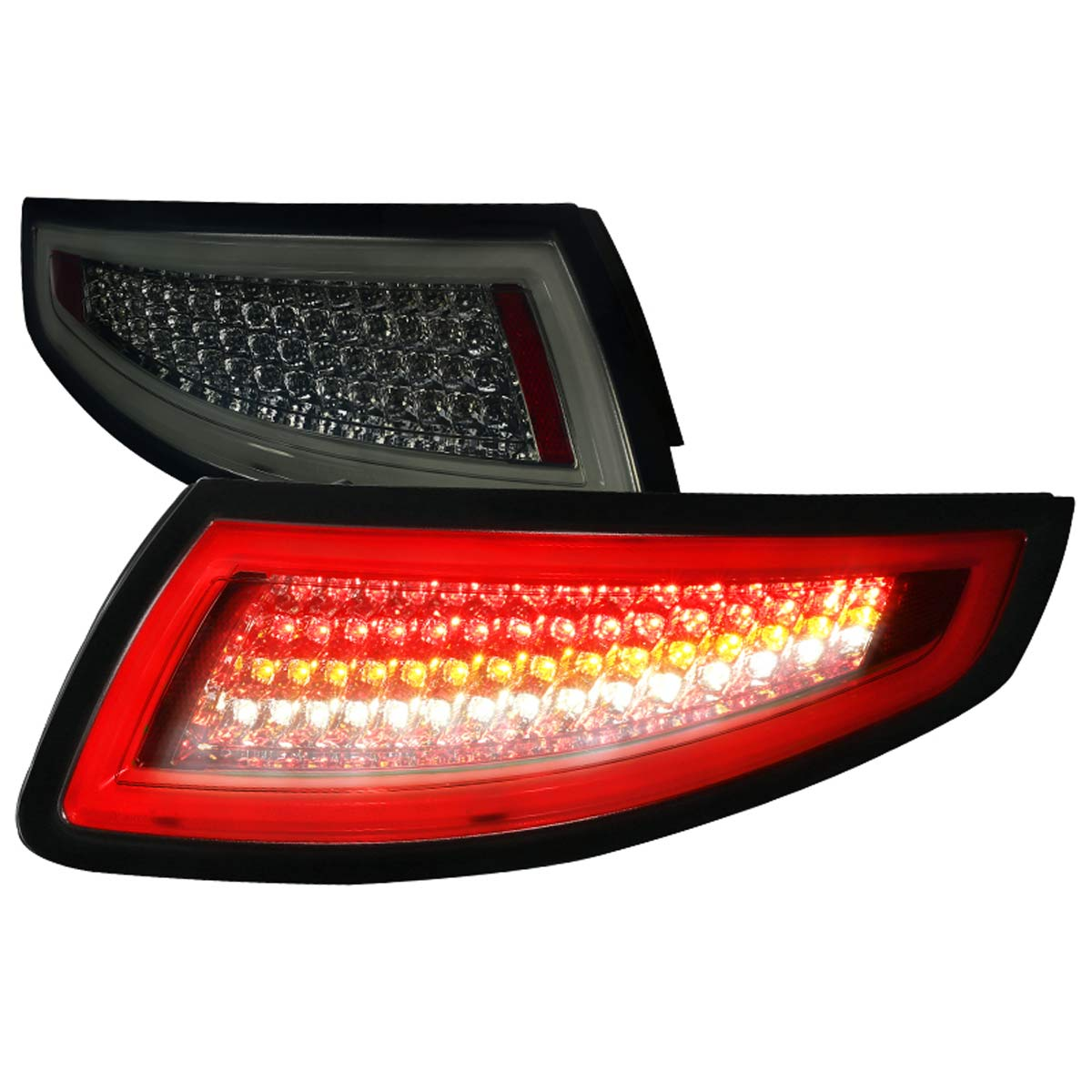 2005 08 Porsche Carrera 997 911 Led Tail Lights Smoked