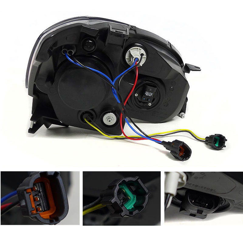 2005 2006 nissan altima depo replacement projector - 2006 nissan altima interior led lights ...