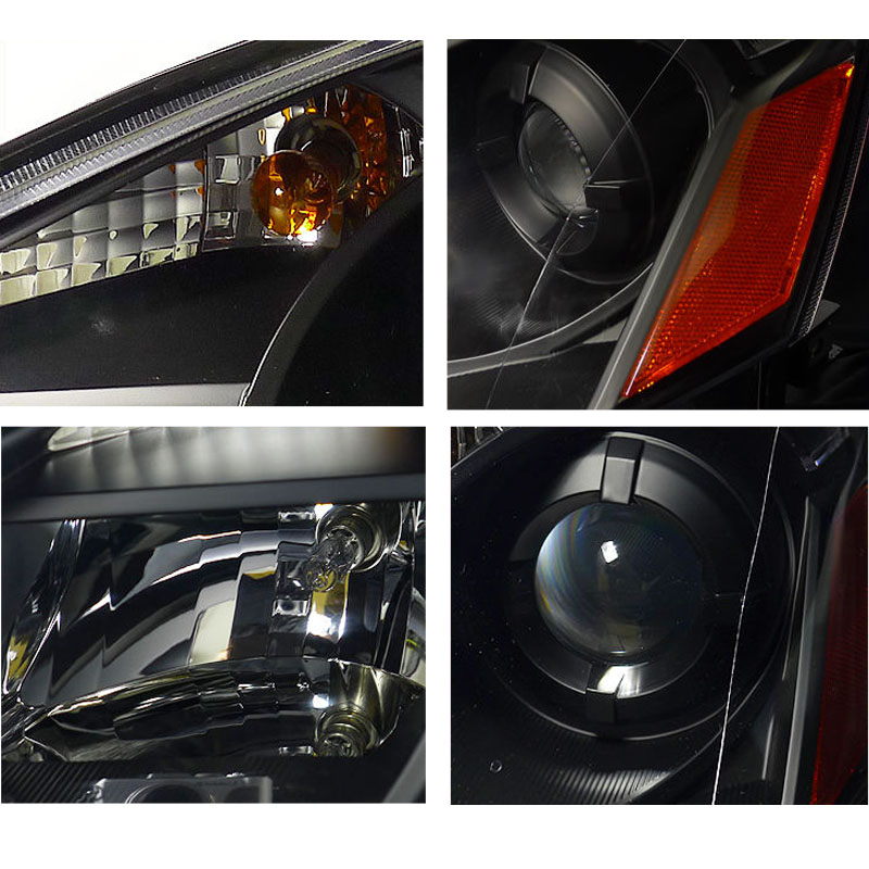 2005 2006 Nissan Altima DEPO Replacement Projector Headlights