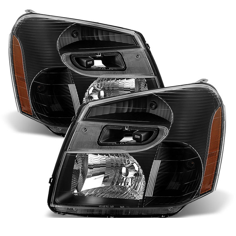 2005-2009 Chevy Equinox Replacement Crystal Headlights