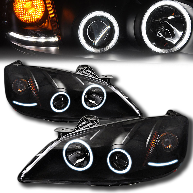 G6 Led Lights : Pontiac g ccfl angel eye halo led projector