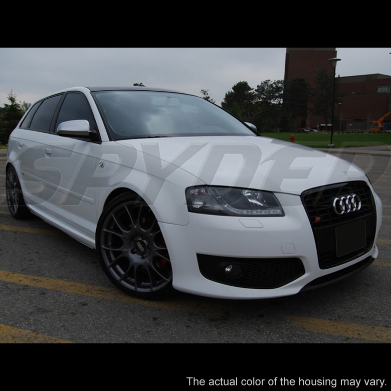 2006-2008 Audi A3 R8 Style LED DRL Projector Headlights