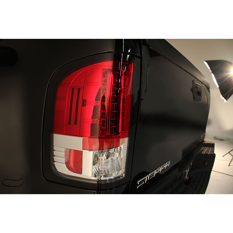 2007 2013 chevy silverado pickup led tail lights red - Led interior lights for 2013 chevy silverado ...