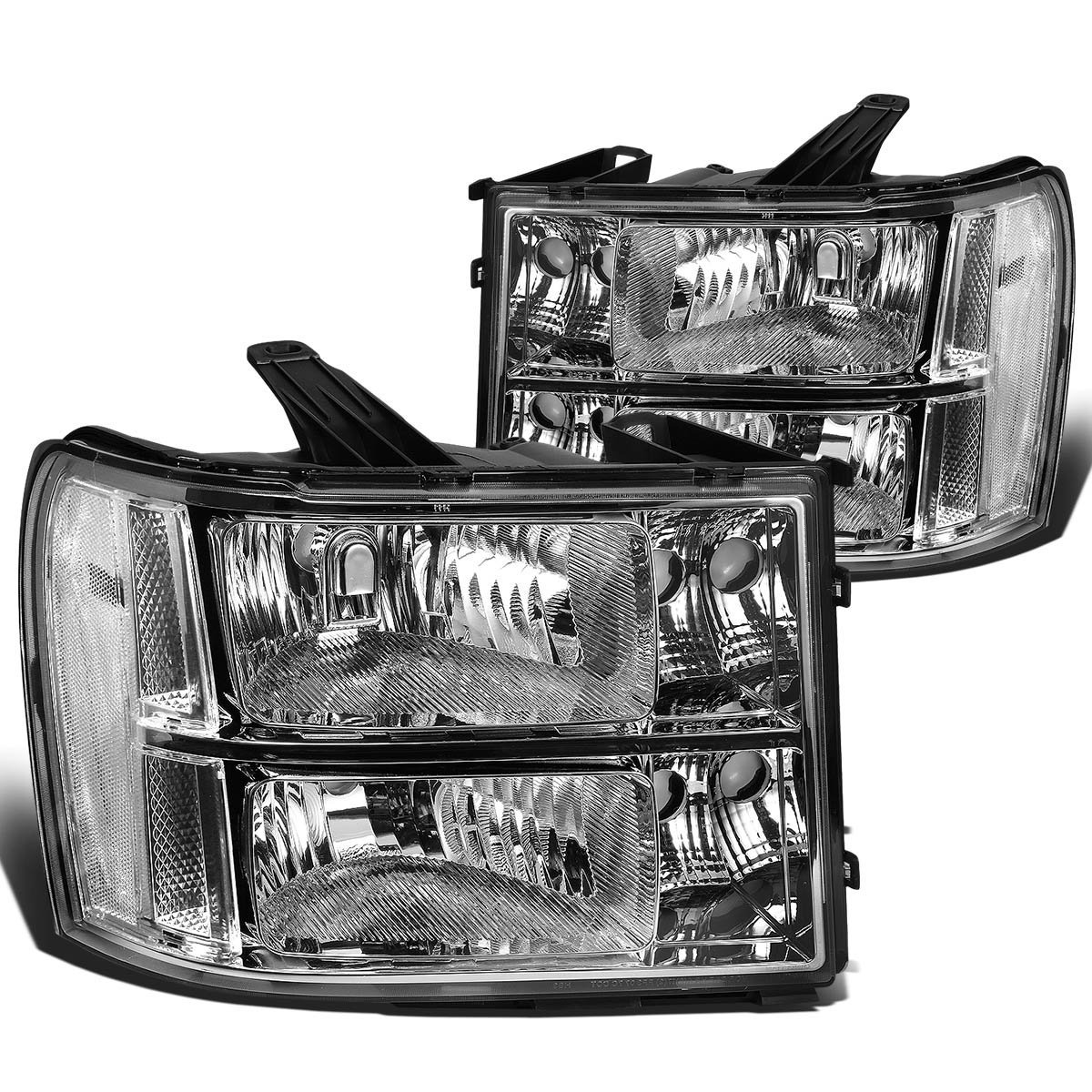 2007-2013 GMC Sierra 1500 2500 3500 HD Replacement Crystal