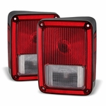 Jeep Wrangler Euro Replacement Tail Lights By Protuninglab