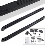 "2007-2014 GMC Acadia 3"" Side Step Nerf Bars S/S Running Board Black"