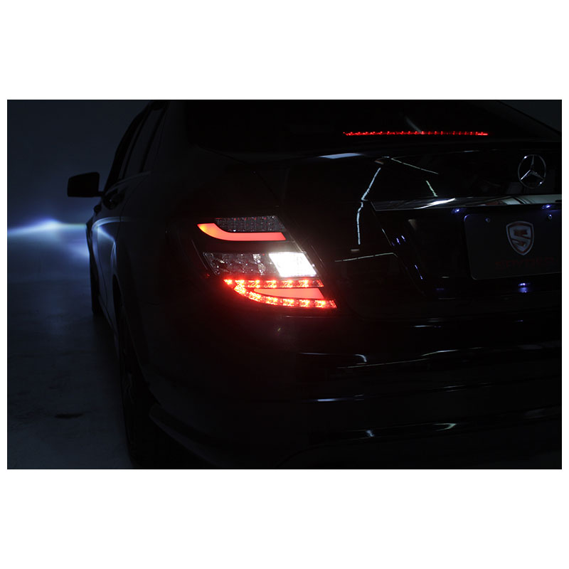 2008 2010 mercedes benz c class w204 euro style led tail for Led light for mercedes benz