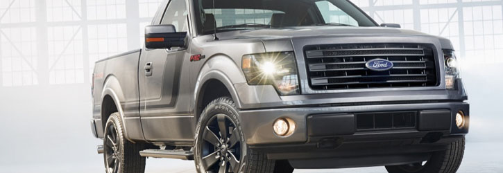 2009 2014 Ford F150 Pickup Angel Eye Halo Led Hid Projector