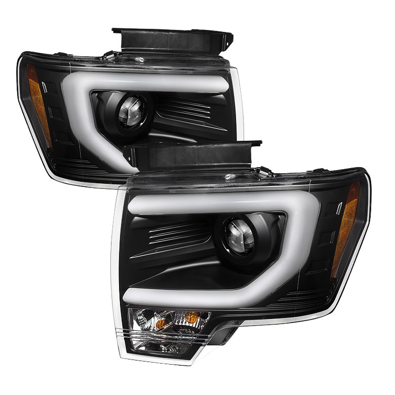 13 14 Ford F150 D3s Hid Model Led Neon Bar Projector