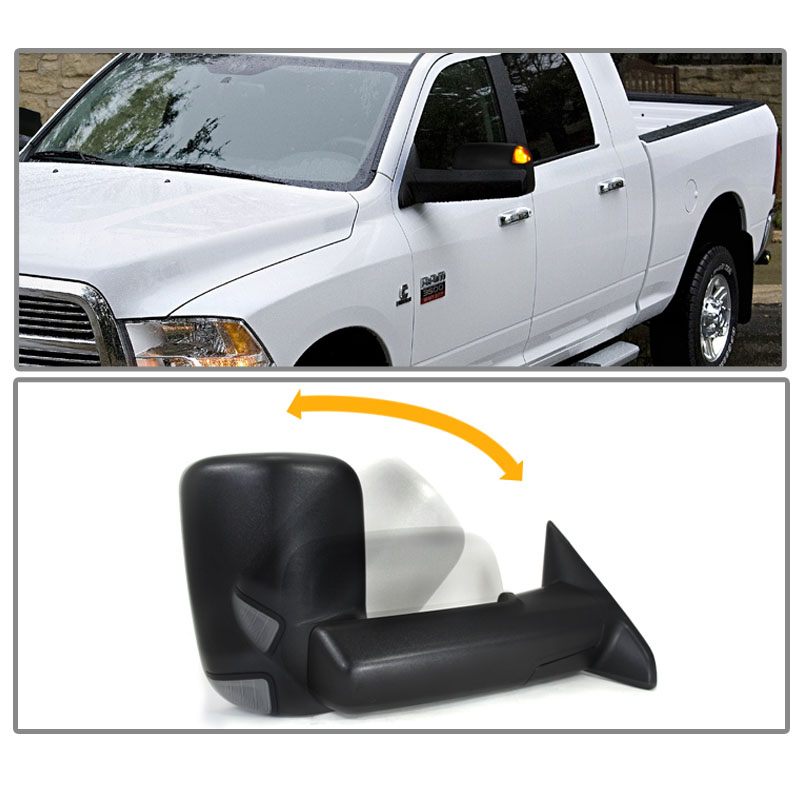 2010 dodge ram 1500 towing mirrors car autos gallery. Black Bedroom Furniture Sets. Home Design Ideas
