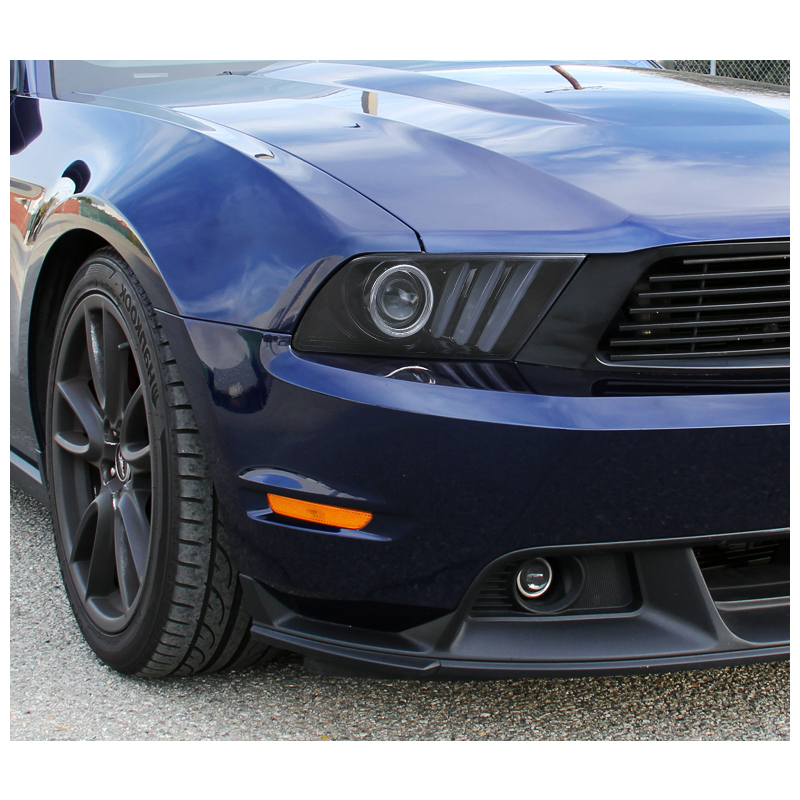 14 Mustang Headlights >> Hid Xenon 10 14 Ford Mustang Sequential Led Drl Bar Projector