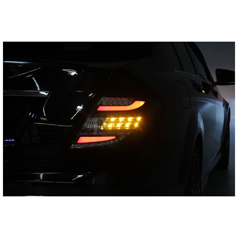 2011 2012 mercedes benz w204 c class euro style led tail for Mercedes benz lights