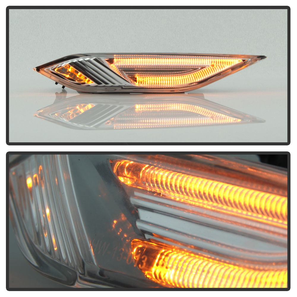 2011 2014 porsche cayenne 958 led side marker smoked lens