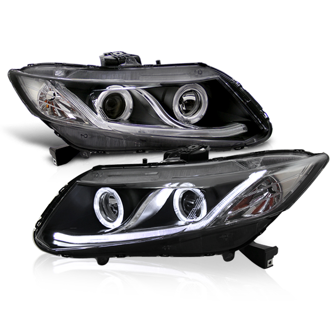 for 12 15 honda civic sedan 12 13 coupe drl led optic. Black Bedroom Furniture Sets. Home Design Ideas