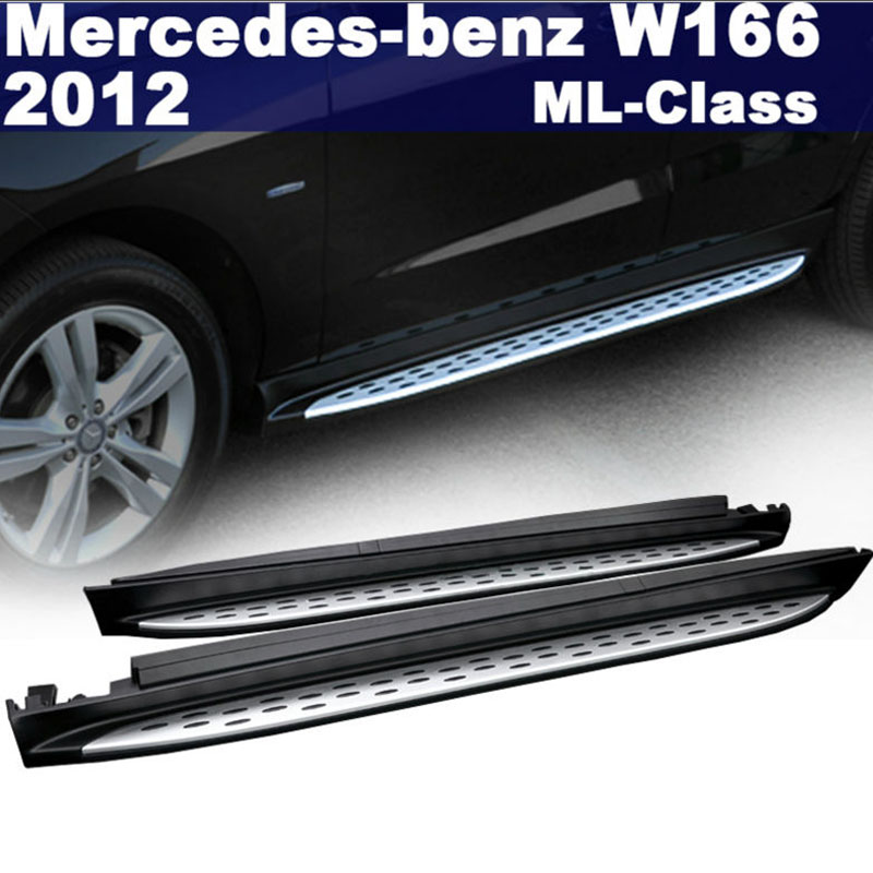 2012 2013 mercedes benz ml350 550 side step bar running