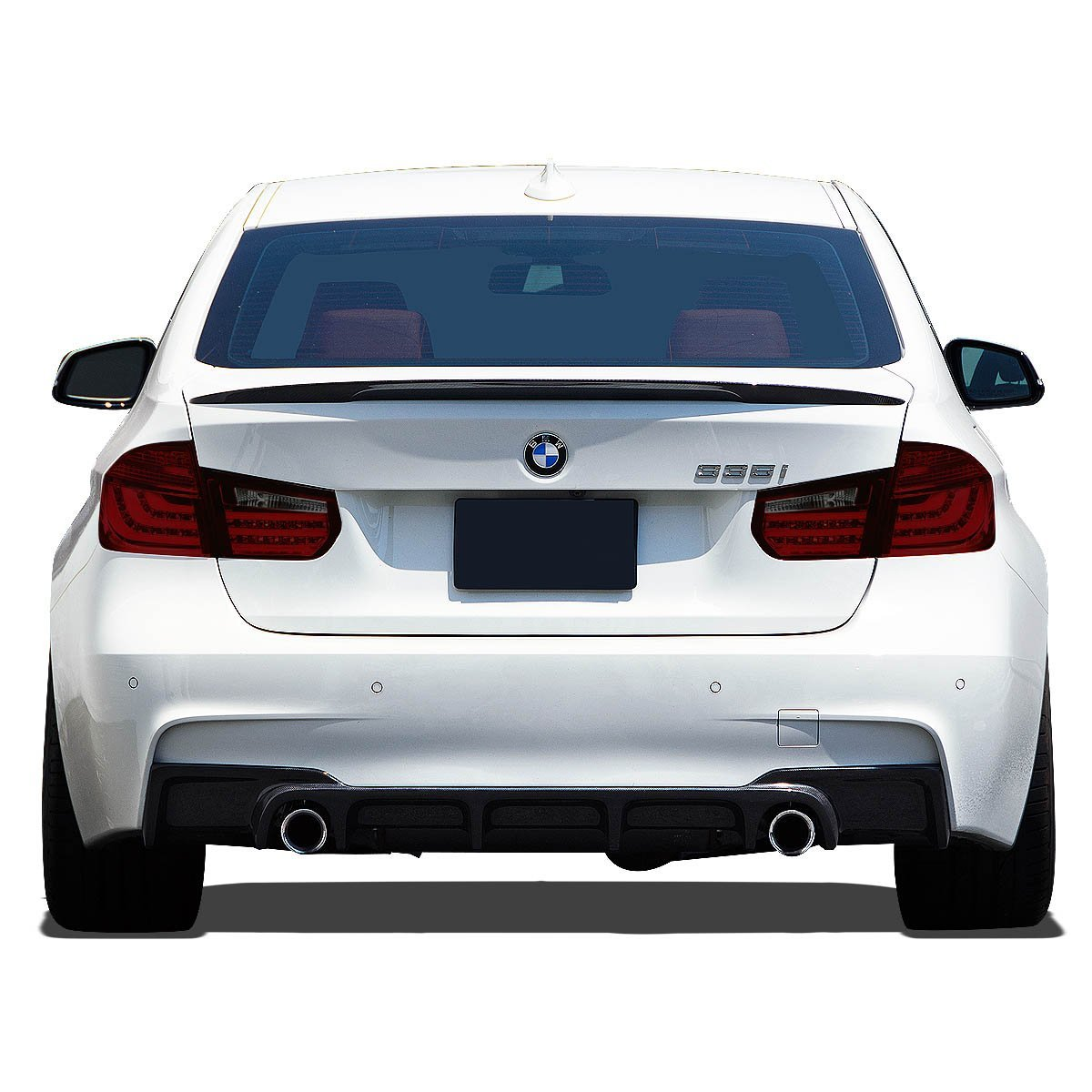 2013-15 BMW 3-Series F30 / F31 4dr Pair Of Red & Smoked