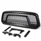 2013-17 Dodge Ram 1500 ABS Plastic OE-Style Rebel Front Grille (Black) - DS DJ D2