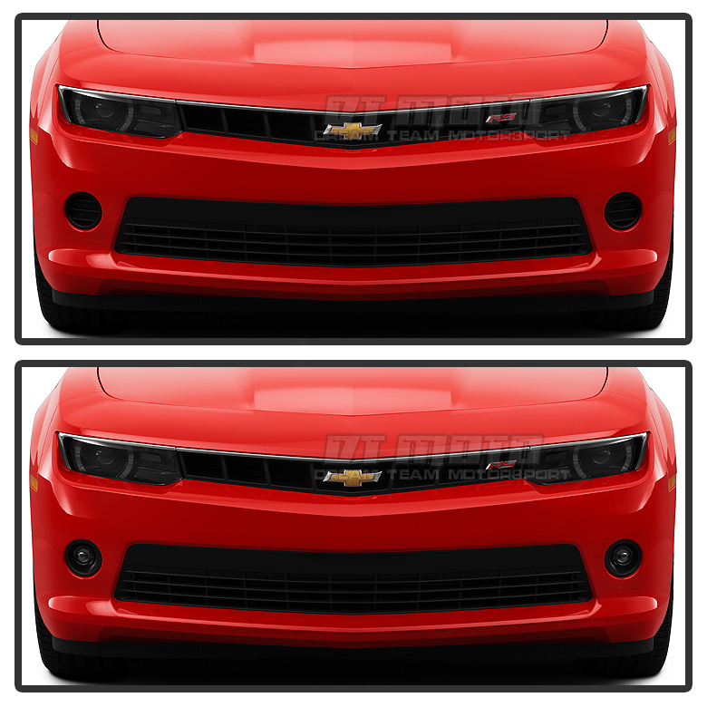 2014 2015 Chevy Camaro V6 Model Glass Projector Fog