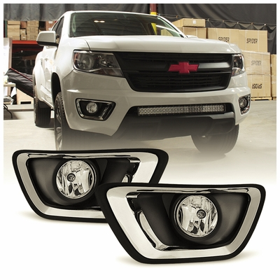 2015 2016 Chevy Colorado Oe Style Fog Lights Kit
