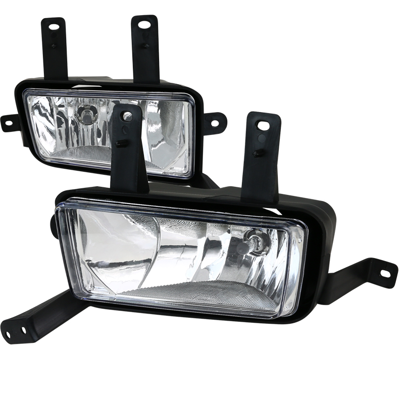 2015-2016 Chevy Tahoe / Suburban Front Fog Lights Kit - Clear