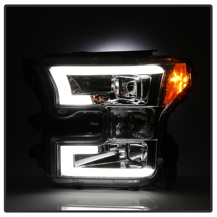 2015 2017 ford f150 led light tube drl projector. Black Bedroom Furniture Sets. Home Design Ideas