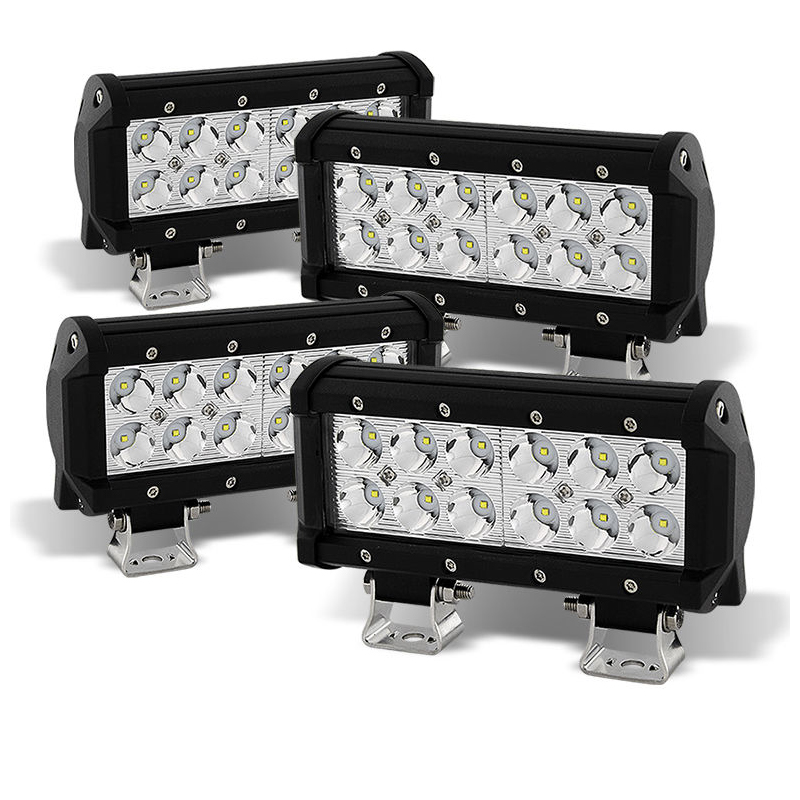 4x 6 36w led light bar spot beam for offroad truck suv atv 4x4 aloadofball Image collections