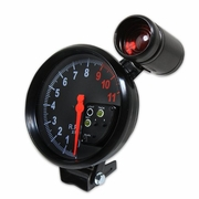 "5"" BLACK 11K RPM TACHO TACHOMETER GAUGE METER 7 COLOR DISPLAY+RED SHIFT LIGHT"