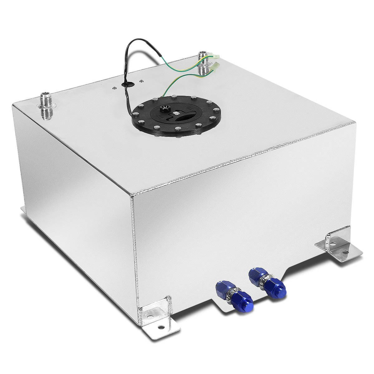 5 Gallon Aluminum Fuel Cell Gas Tank With Level Sender