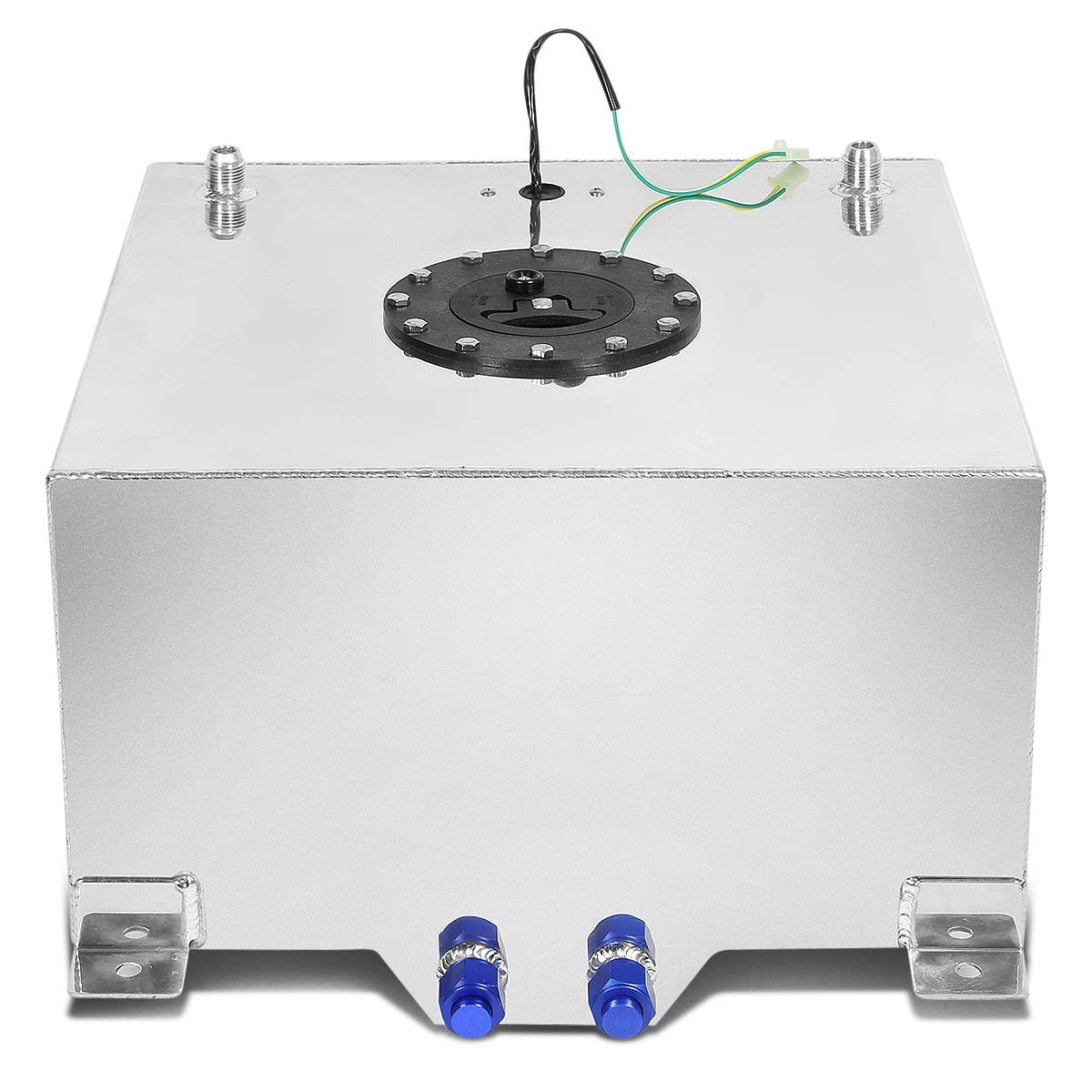 5 gallon aluminum fuel cell gas tank with level sender with black cap 33 gallon aluminum fuel cell gas tank with level sender with black cap rci fuel cell sending unit wiring diagram at panicattacktreatment.co