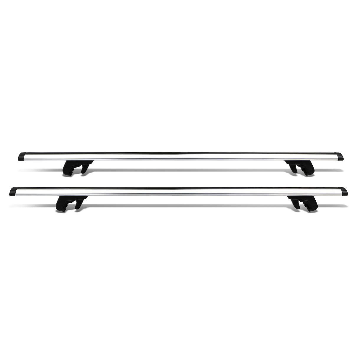 54 Quot Adjustable Pair Of Aluminum Top Cross Bar Cargo Roof Racks