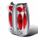 88-98 Chevy Full Size Pickup C10 / CK Silverado / Tahoe / Sierra Altezza Tail Lights - Chrome