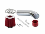 89-94 Chevy / Geo Tracker 1.6L L4 Short Ram Air Intake Kit - Red