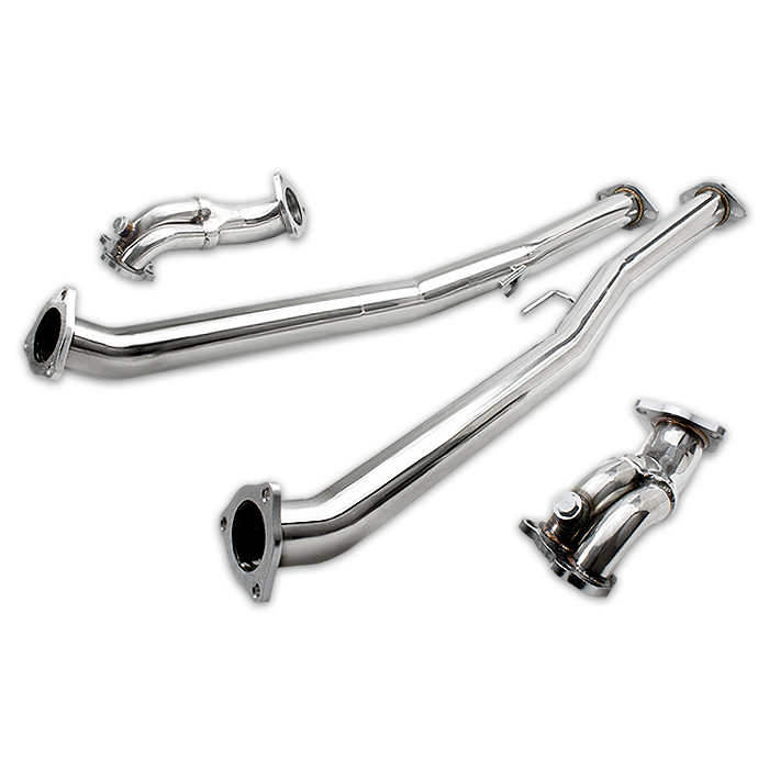 300zx Turbo Outlet Pipes: 90-96 Nissan 300Zx Turbo Fairlady Z Z32 3.0L Stainless Ss