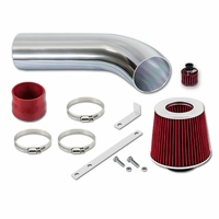92-94 VW Corrado / 93-98 VW Jetta 2.8L VR6 Cold Air Intake - Red