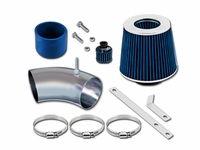 93-98 Volkswagen Golf (GL/GTI/Jazz/K2/Limited/Trek) / Jetta (GL/GLS/GT/K2) / 95-98 Cabrio (Base/Highline/GLS) 2.0L L4 Short Ram Air Intake Kit - Blue