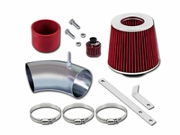93-98 Volkswagen Golf (GL/GTI/Jazz/K2/Limited/Trek) / Jetta (GL/GLS/GT/K2) / 95-98 Cabrio (Base/Highline/GLS) 2.0L L4 Short Ram Air Intake Kit - Red