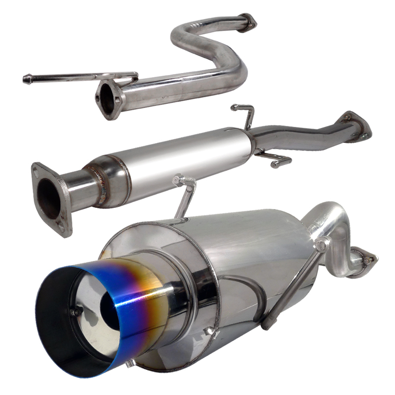 94-01 Acura Integra GS/ RS N1 Style Cat-Back Exhaust