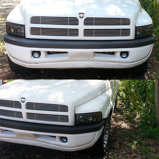 94 01 dodge ram 1500 2500 3500 smoked 1pc crystal headlights. Black Bedroom Furniture Sets. Home Design Ideas