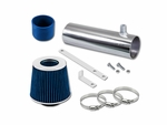 94-96 Buick Roadmaster 4.3L 5.7L V8 Short Ram Air Intake Kit - Blue