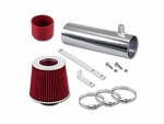 94-96 Buick Roadmaster 4.3L 5.7L V8 Short Ram Air Intake Kit - Red