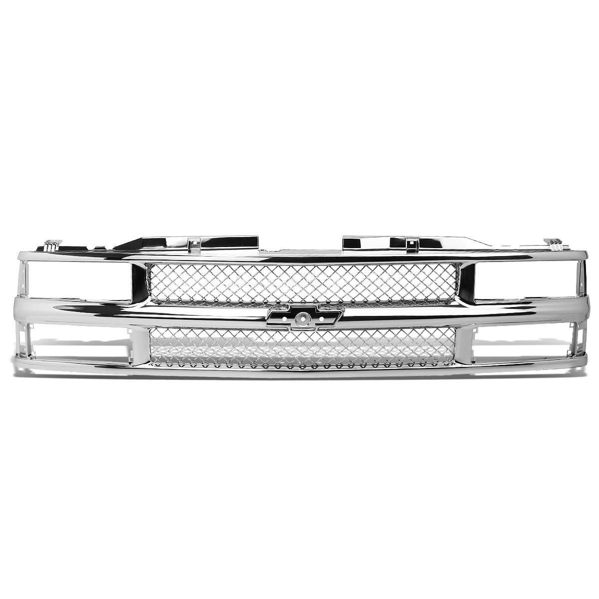 All Chevy 98 chevy bumper : 94-98 Chevy C10 C/K-Series Chrome Meshed ABS Plastic Front Bumper ...