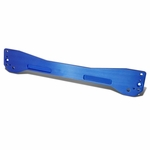 DNA 96-00 Honda Civic EK Aluminum Rear Sub Frame Lower Brace Tie Bar - Blue