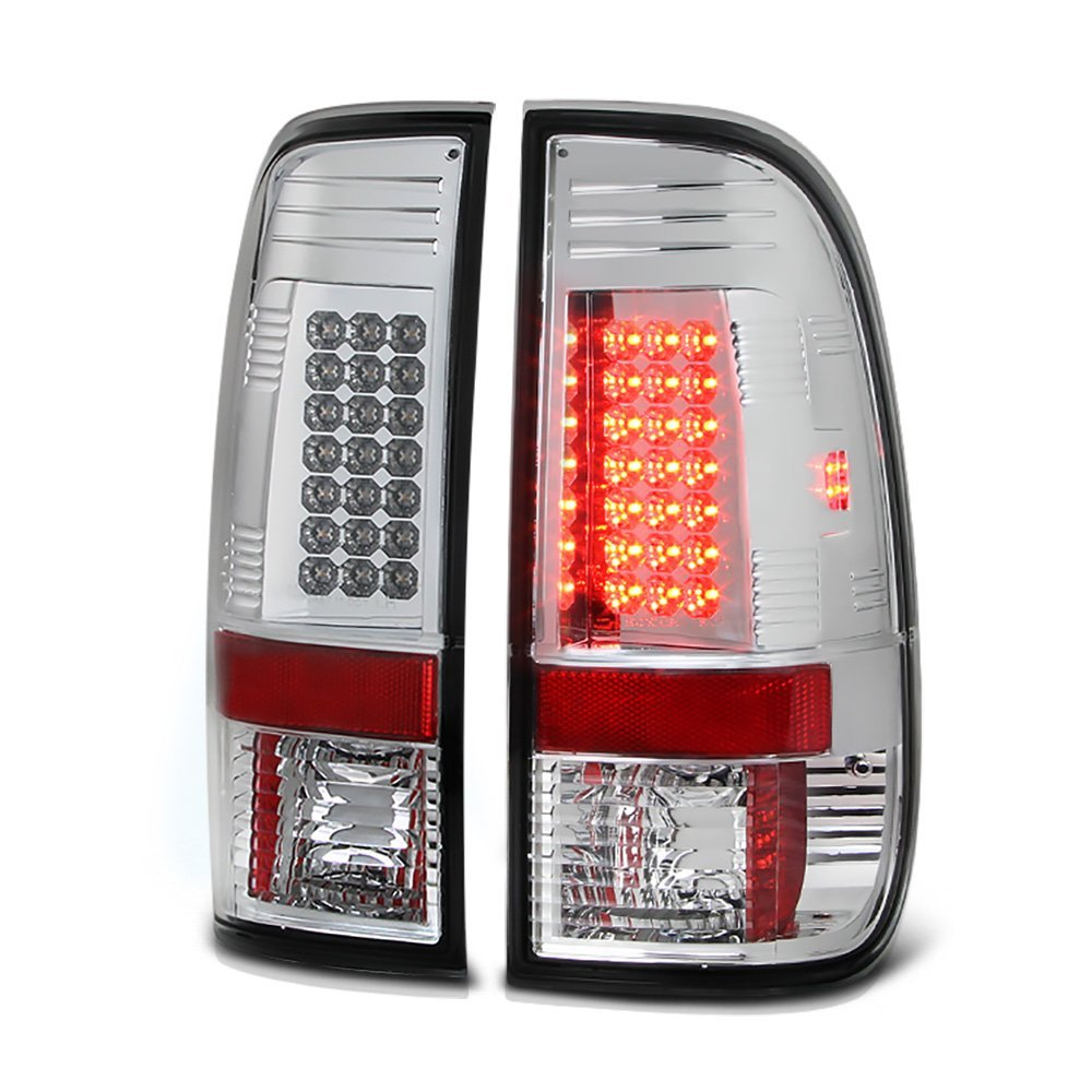 97-03 Ford F150    99-07 Superduty Led Tail Lights