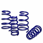"97-03 Pontiac Grand Prix V6 1.7"" Drop Suspension Lowering Springs - Blue"