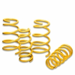 "97-03 Pontiac Grand Prix V6 1.7"" Drop Suspension Lowering Springs - Yellow"