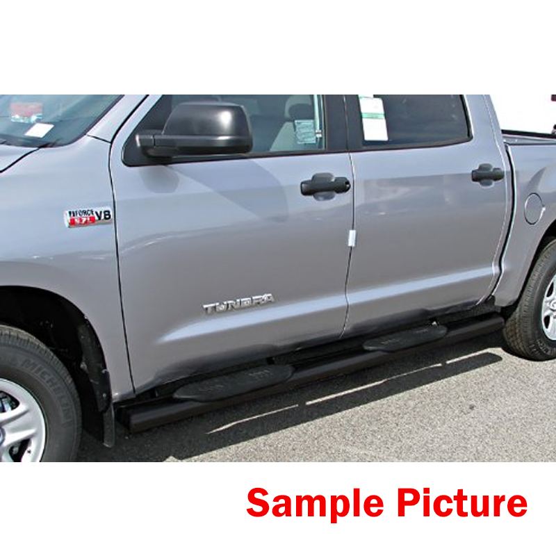 05 16 Nissan Frontier Crew Cab 4 Oval Side Step Nerf Bar Running